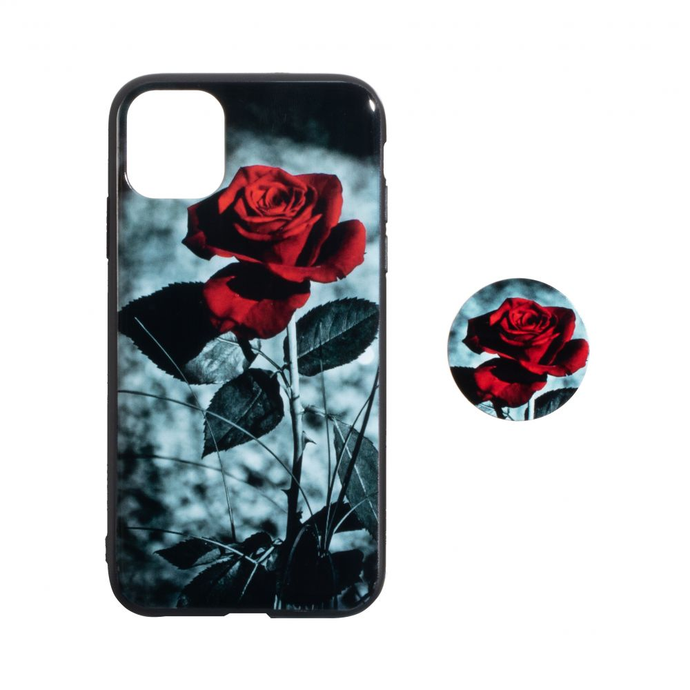 Купить TPU PRINT WITH POPSOCKET FOR APPLE IPHONE 11 PRO MAX_2