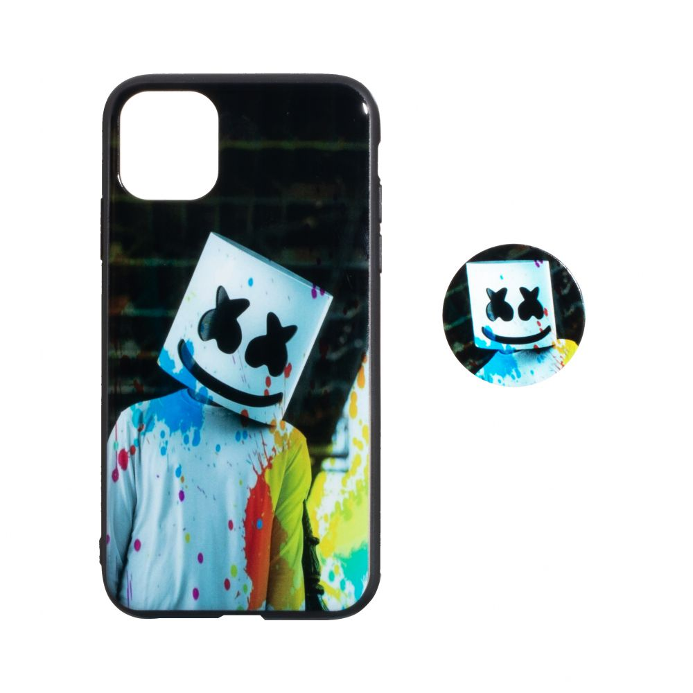 Купить TPU PRINT WITH POPSOCKET FOR APPLE IPHONE 11 PRO MAX_6