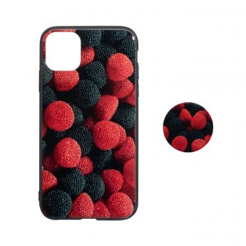 Купить ЧЕХОЛ TPU PRINT WITH POPSOCKET FOR APPLE IPHONE 11 PRO MAX