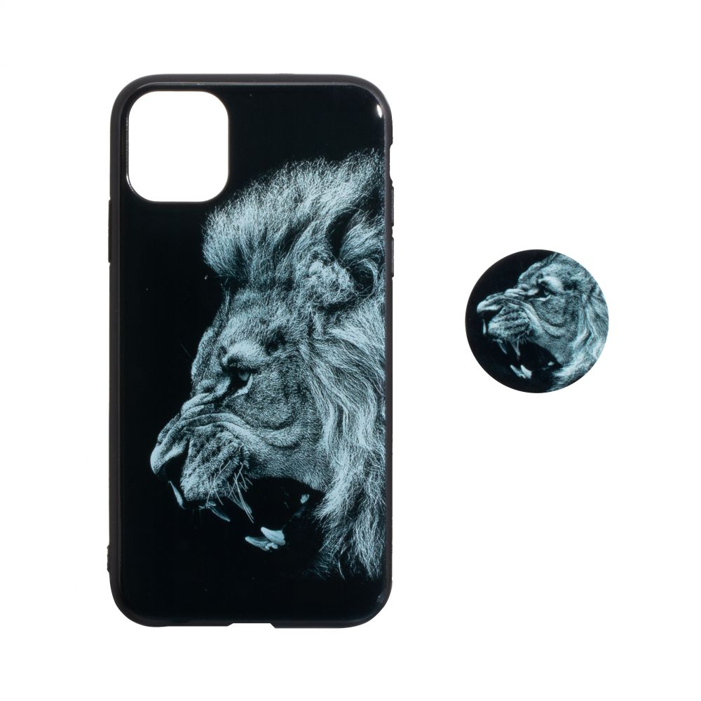 Купить TPU PRINT WITH POPSOCKET FOR APPLE IPHONE 11 PRO MAX_5
