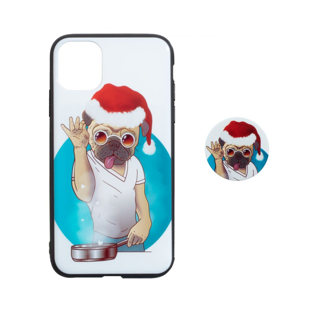 Купить TPU PRINT WITH POPSOCKET FOR APPLE IPHONE 11 PRO MAX_10
