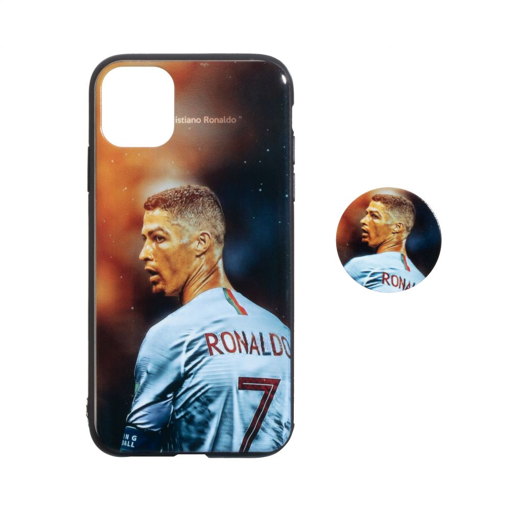 Купить TPU PRINT WITH POPSOCKET FOR APPLE IPHONE 11 PRO MAX_1