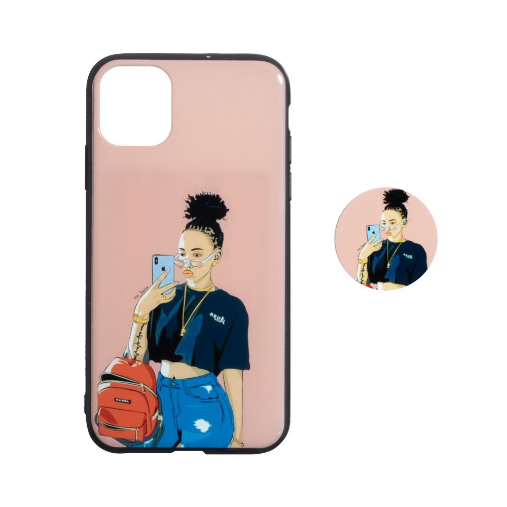 Купить TPU PRINT WITH POPSOCKET FOR APPLE IPHONE 11 PRO MAX_7