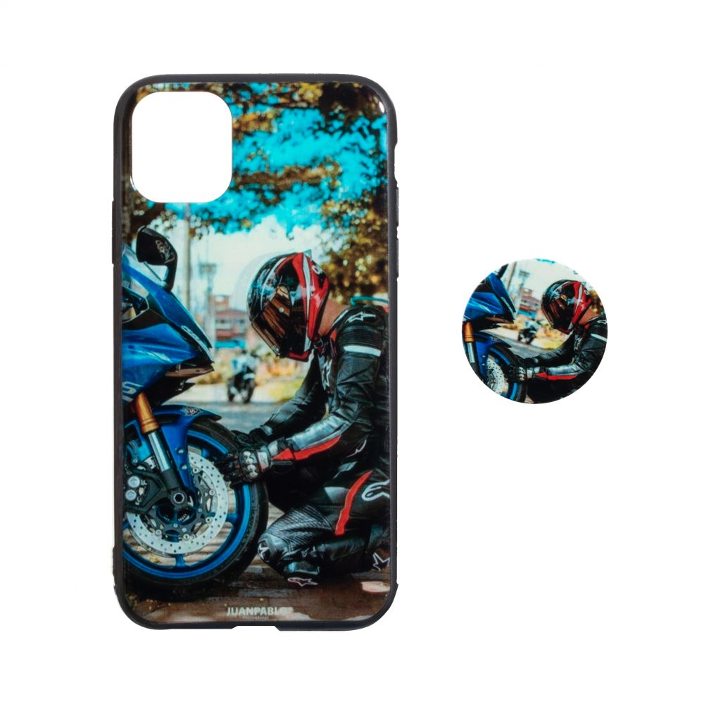 Купить TPU PRINT WITH POPSOCKET FOR APPLE IPHONE 11 PRO MAX_8