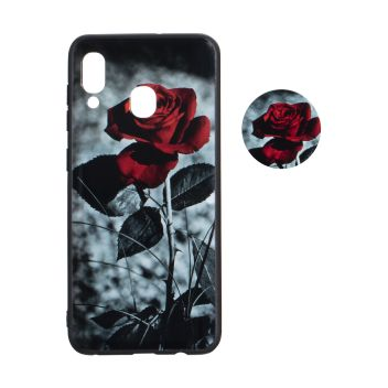 Купить ЧЕХОЛ TPU PRINT WITH POPSOCKET FOR SAMSUNG A20 / A30