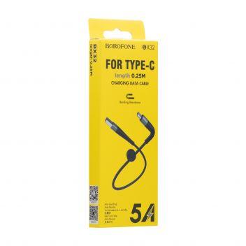Купить USB BOROFONE BX32 MUNIFICENT TYPE-C 0.25M