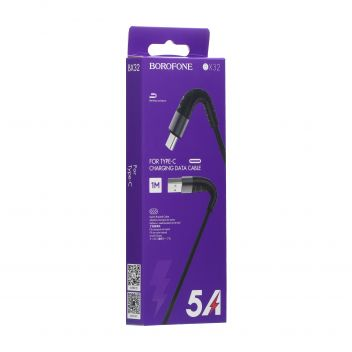 Купить USB BOROFONE BX32 MUNIFICENT TYPE-C 1M