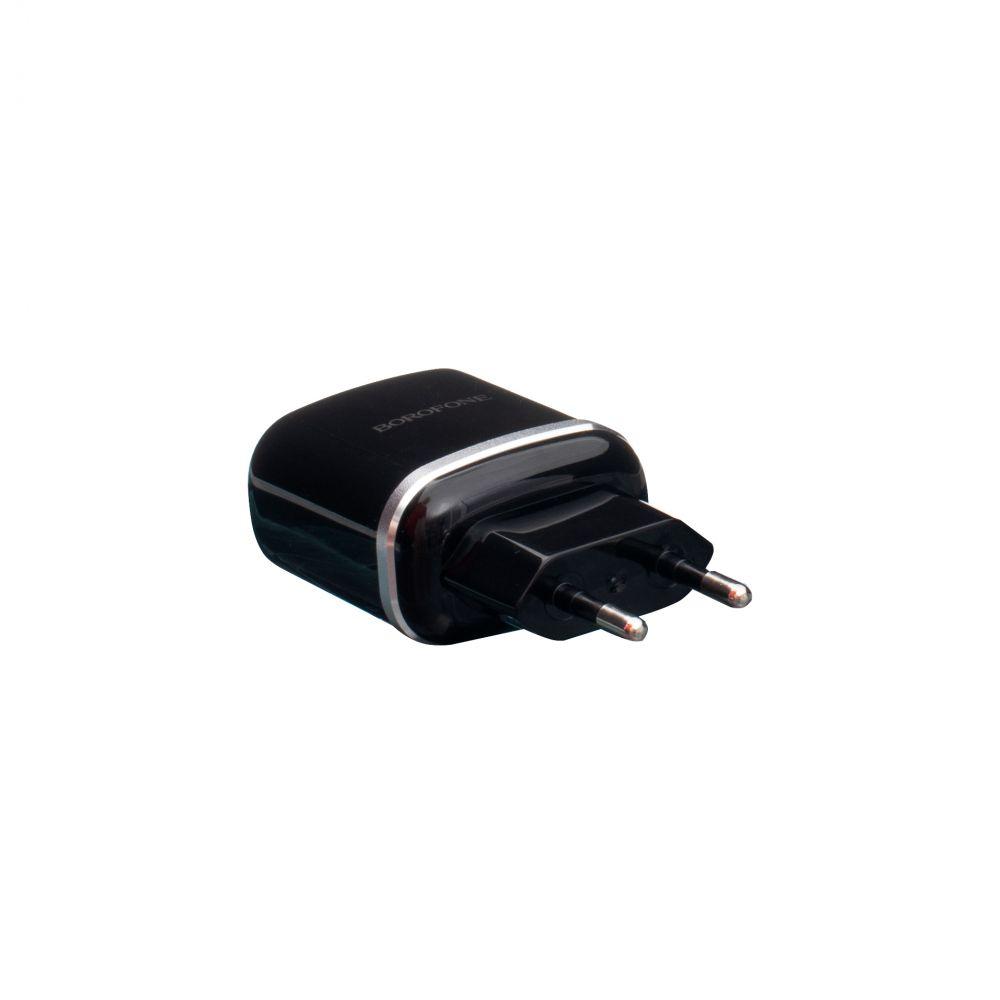 Купить СЕТЕВОЕ ЗАРЯДНОЕ УСТРОЙСТВО BOROFONE BA25A MICRO 2 USB 2.4A_6