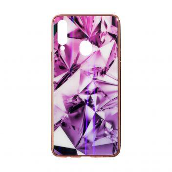Купить СИЛИКОН CASE ORIGINAL GLASS TPU PRISM FOR SAMSUNG A20S
