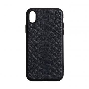 Купить ЧЕХОЛ TPU LEATHER CROCO WITH MAGNIT FOR APPLE IPHONE XS MAX