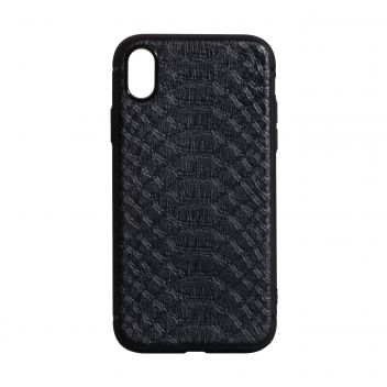 Купить ЧЕХОЛ TPU LEATHER CROCO WITH MAGNIT FOR APPLE IPHONE X / XS