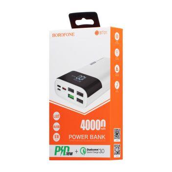 Купить POWER BANK BOROFONE DBT01 PD 40000 MAH