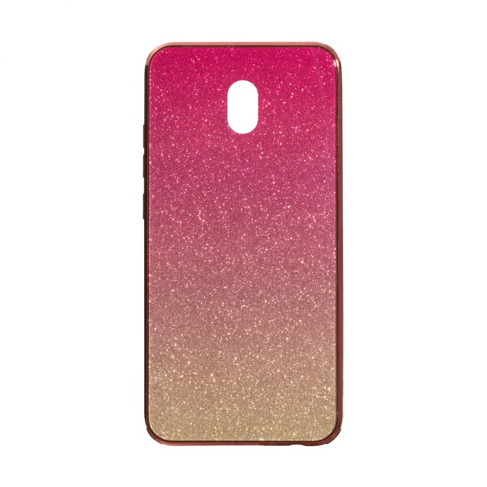 Купить СИЛИКОН CASE ORIGINAL GLASS TPU AMBRE FOR XIAOMI REDMI 8A_1