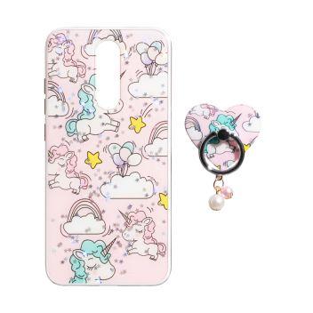 Купить TPU PRINT WITH RING FOR XIAOMI REDMI 8