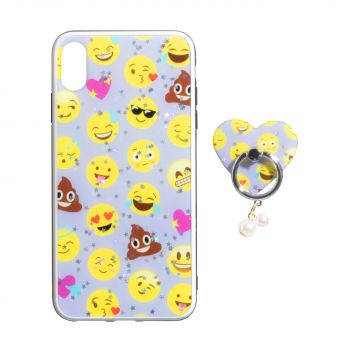 Купить TPU PRINT WITH RING FOR APPLE IPHONE XR