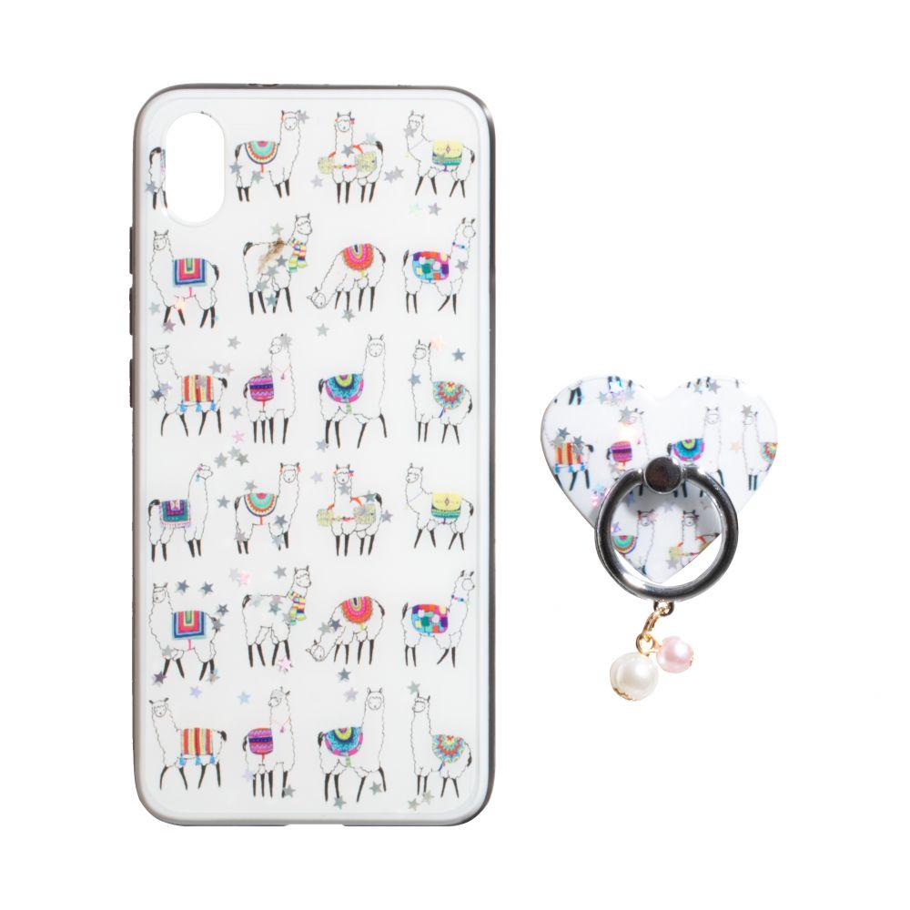 Купить ЧЕХОЛ TPU PRINT WITH RING FOR APPLE IPHONE XS MAX_7