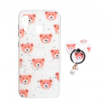 Купить ЧЕХОЛ TPU PRINT WITH RING FOR SAMSUNG A20 / A30