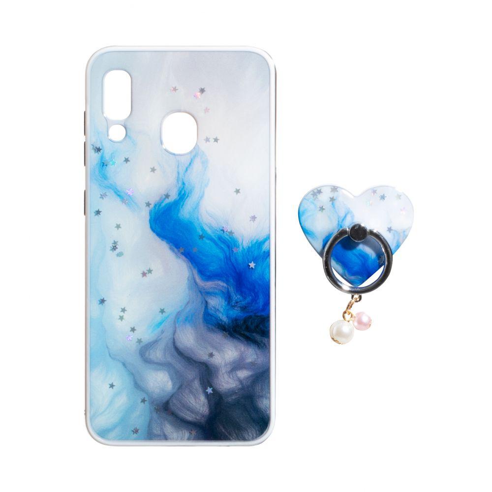 Купить ЧЕХОЛ TPU PRINT WITH RING FOR SAMSUNG A20 / A30_4