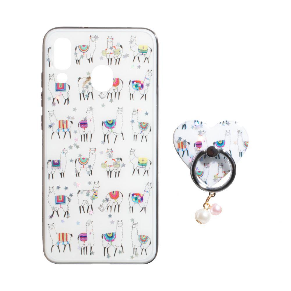 Купить ЧЕХОЛ TPU PRINT WITH RING FOR SAMSUNG A20 / A30_9
