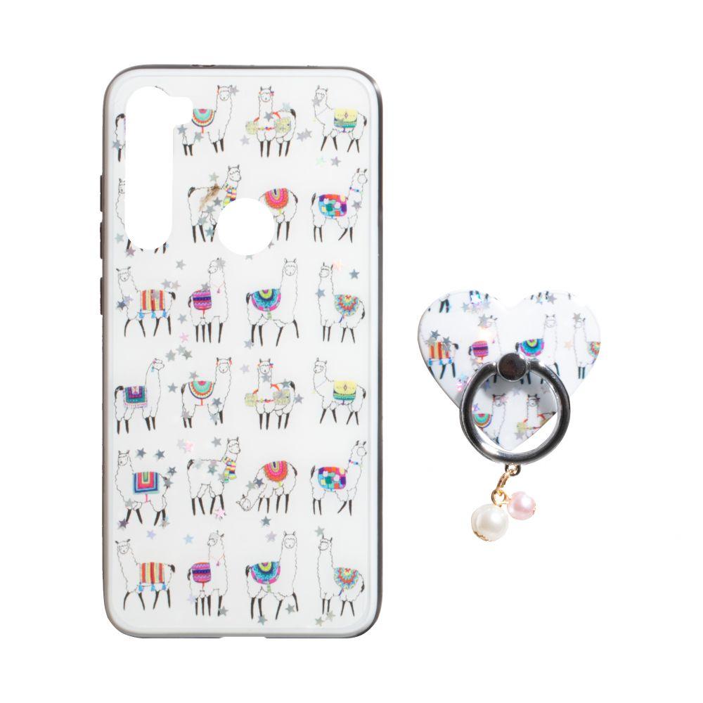Купить ЧЕХОЛ TPU PRINT WITH RING FOR XIAOMI REDMI NOTE 8_8
