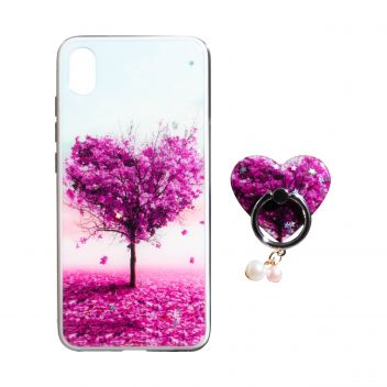 Купить ЧЕХОЛ TPU PRINT WITH RING FOR APPLE IPHONE XR