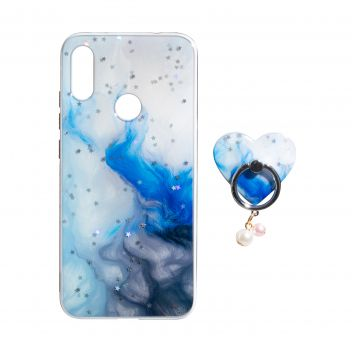 Купить TPU PRINT WITH RING FOR XIAOMI REDMI 7