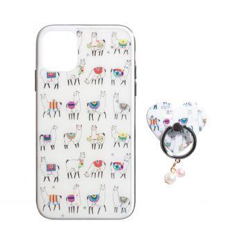 Купить TPU PRINT WITH RING FOR APPLE IPHONE 11