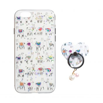 Купить TPU PRINT WITH RING FOR APPLE IPHONE 6G