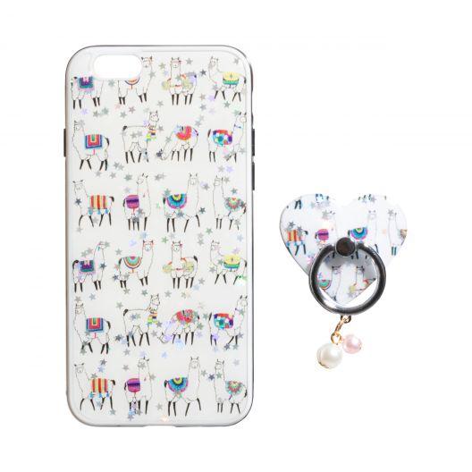 Купить TPU PRINT WITH RING FOR APPLE IPHONE 6G