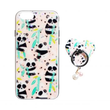 Купить ЧЕХОЛ TPU PRINT WITH RING FOR APPLE IPHONE 8G