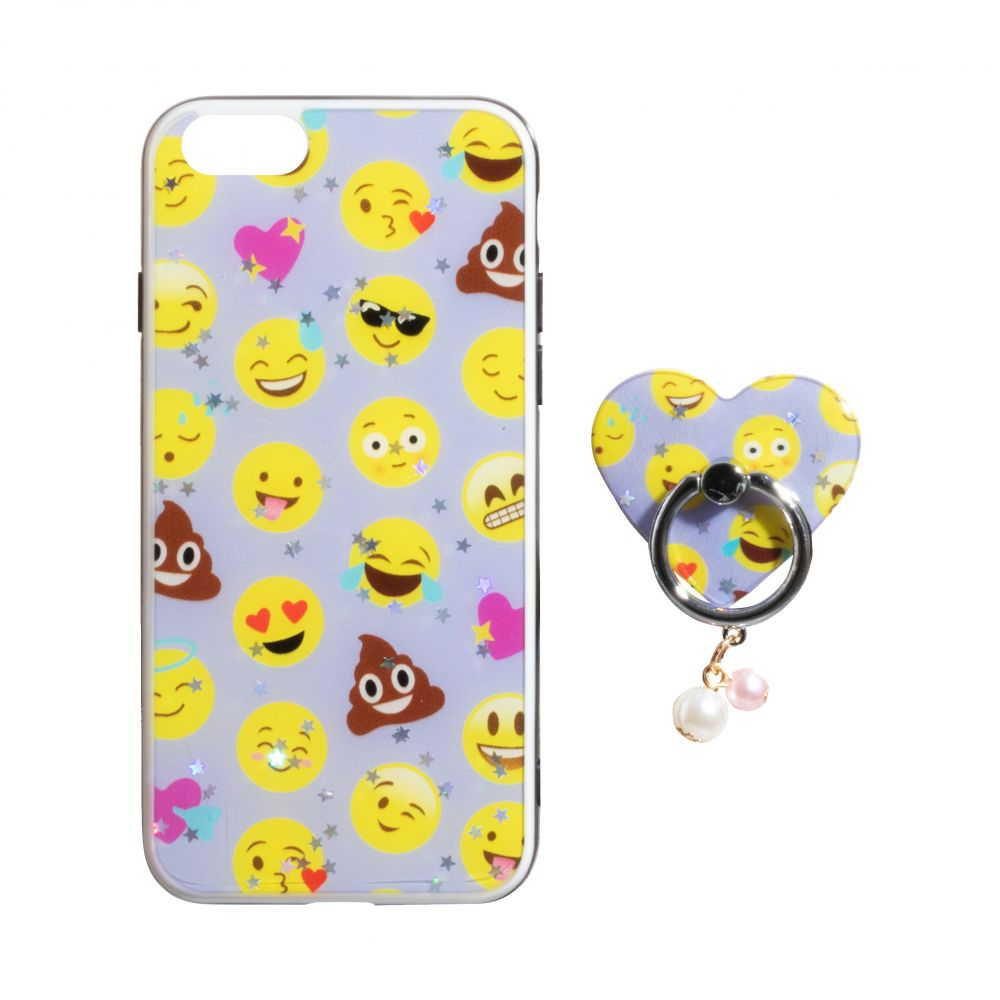 Купить ЧЕХОЛ TPU PRINT WITH RING FOR APPLE IPHONE 8G_1