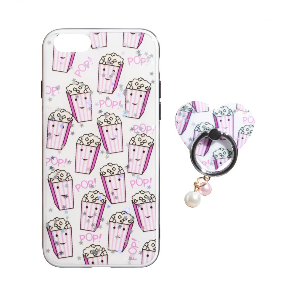 Купить ЧЕХОЛ TPU PRINT WITH RING FOR APPLE IPHONE 8G_6