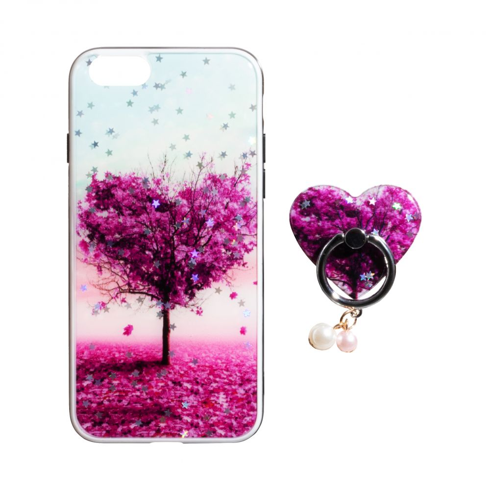Купить ЧЕХОЛ TPU PRINT WITH RING FOR APPLE IPHONE 8G_7