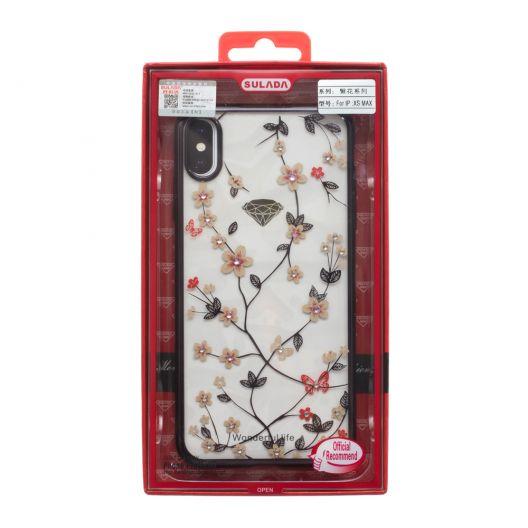 Купить ЧЕХОЛ SULADA FLOWER FOR APPLE IPHONE XS MAX