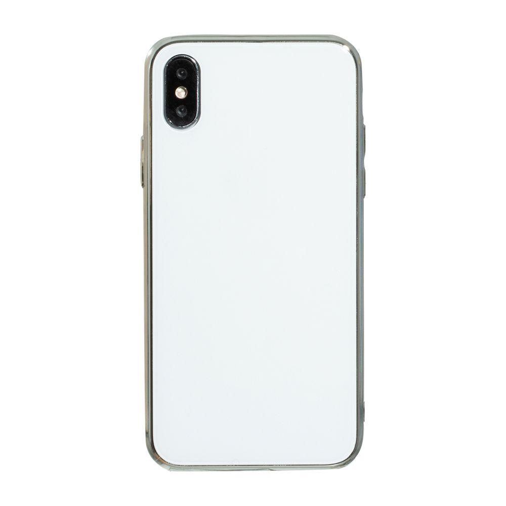 Купить СИЛИКОН CASE ORIGINAL GLASS FOR APPLE IPHONE XS