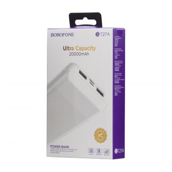 Купить POWER BANK BOROFONE BT27A 20000 MAH