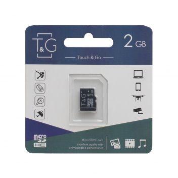 Купить КАРТА ПАМЯТИ T&G MICROSD 2GB 6 CLASS