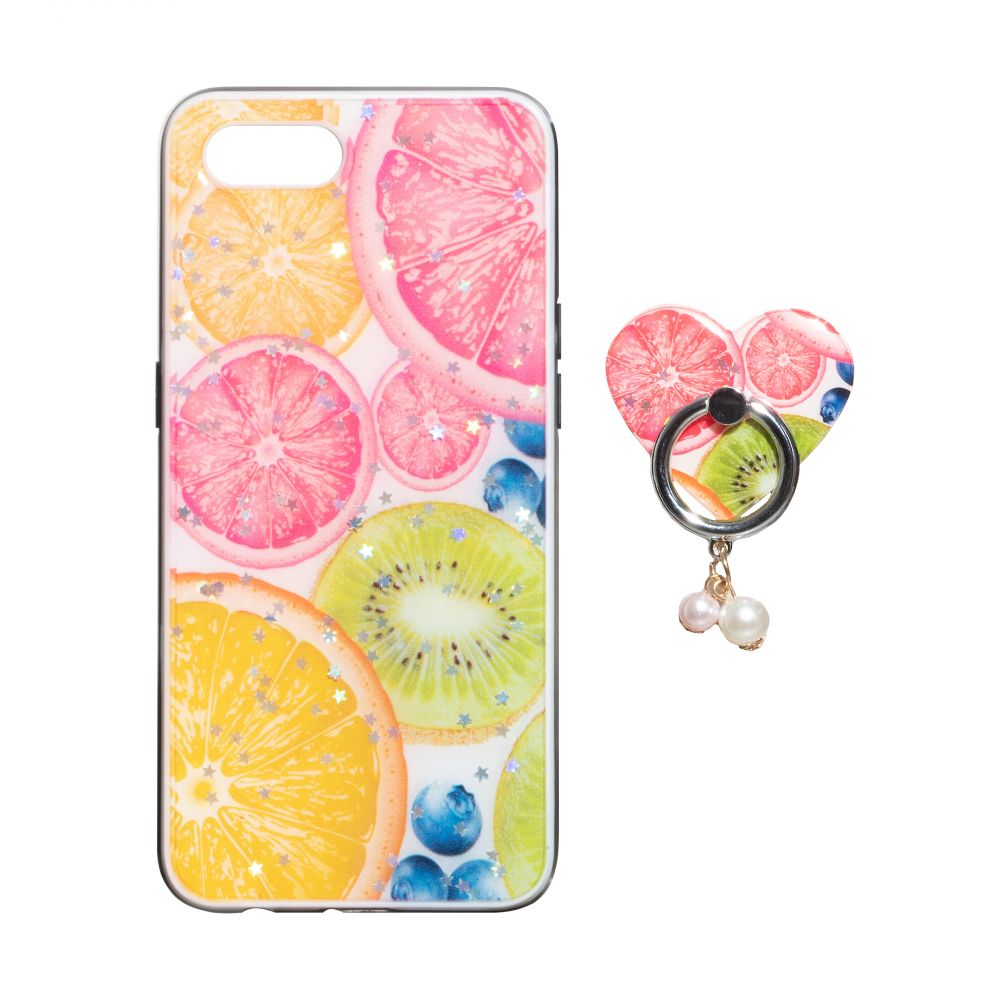 Купить ЧЕХОЛ TPU PRINT WITH RING FOR APPLE IPHONE 8G_13