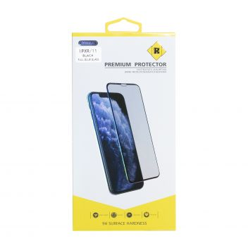 Купить ЗАЩИТНОЕ СТЕКЛО R YELLOW PREMIUM FOR APPLE IPHONE 11 / XR