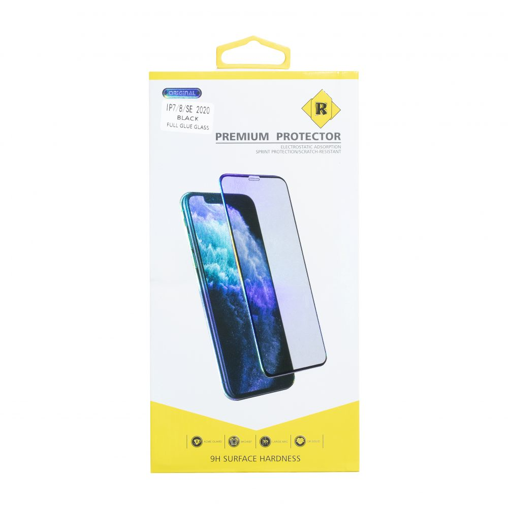 Купить ЗАЩИТНОЕ СТЕКЛО R YELLOW PREMIUM FOR APPLE IPHONE 7 / 8 / SE 2020