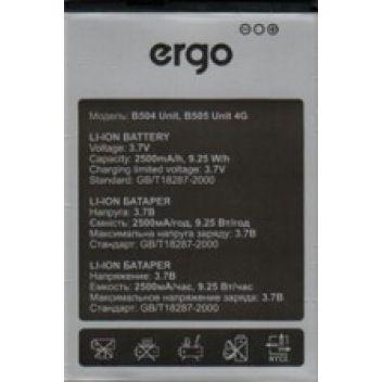 Купить АККУМУЛЯТОР ДЛЯ ERGO B504 / B505 UNIT