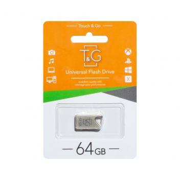 Купить USB FLASH DRIVE T&G 64GB METAL 109