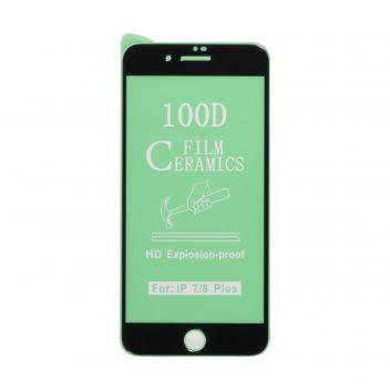 Купить ЗАЩИТНОЕ СТЕКЛО FILM CERAMIC FOR APPLE IPHONE 7 PLUS / 8 PLUS БЕЗ УПАКОВКИ