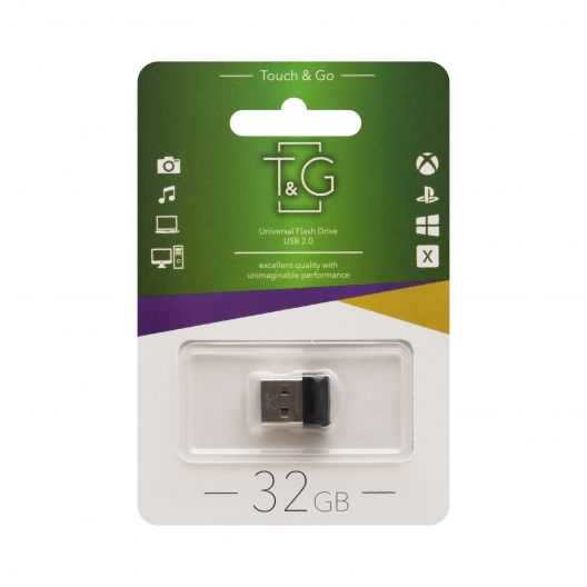 Купить USB FLASH DRIVE T&G 32GB MINI 010