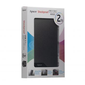 Купить ВНЕШНИЙ ЖЕСТКИЙ ДИСК PHD APACER USB 3.1 AC632 2TB