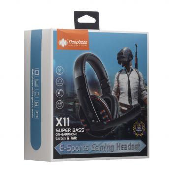 Купить НАУШНИКИ PC DEEPBASS X11