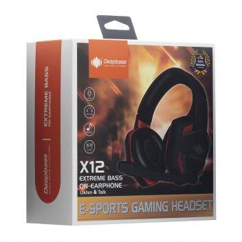 Купить НАУШНИКИ PC DEEPBASS X12