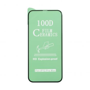 Купить ЗАЩИТНОЕ СТЕКЛО FILM CERAMIC FOR APPLE IPHONE 11 PRO MAX / XS MAX БЕЗ УПАКОВКИ