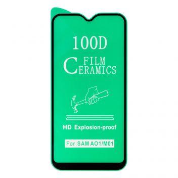 Купить ЗАЩИТНОЕ СТЕКЛО FILM CERAMIC FOR SAMSUNG A01 / M01 БЕЗ УПАКОВКИ
