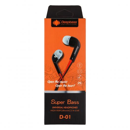 Купить НАУШНИКИ DEEPBASS D-01
